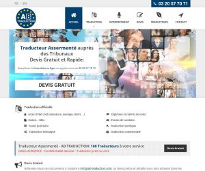 THALES IT - Réalisation sites Internet - AB Traduction