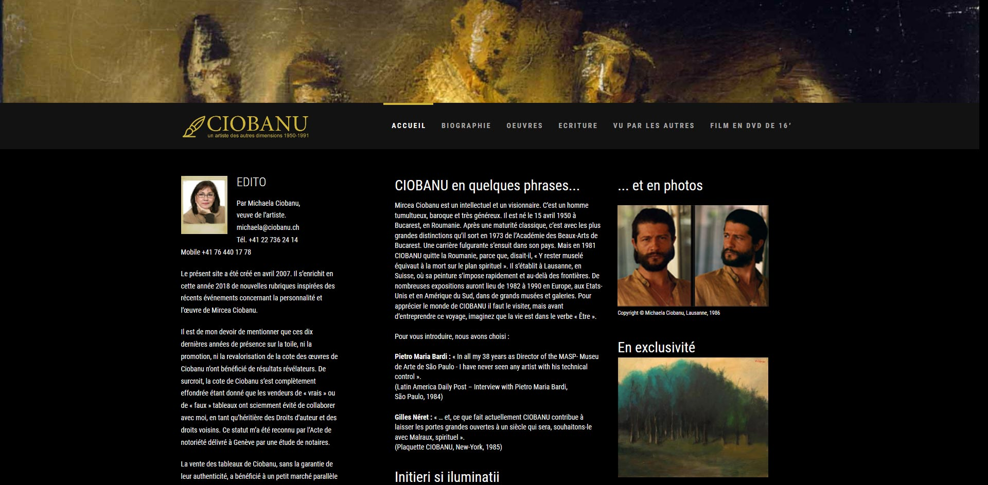 THALES IT - Réalisation sites Internet - Mircea Ciobanu