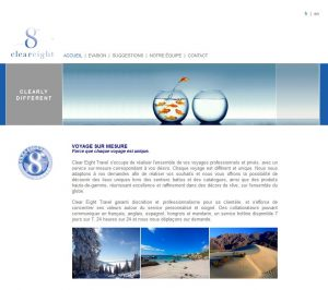 THALES IT - Réalisation sites Internet - Agence WEB - Clear Eight Travel