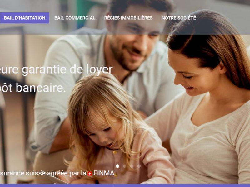 THALES IT - Réalisation sites Internet - Firstcaution SA