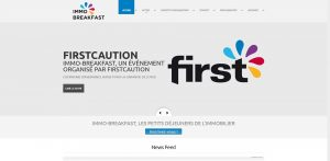 THALES IT - Réalisation sites Internet - Immo Breakfast