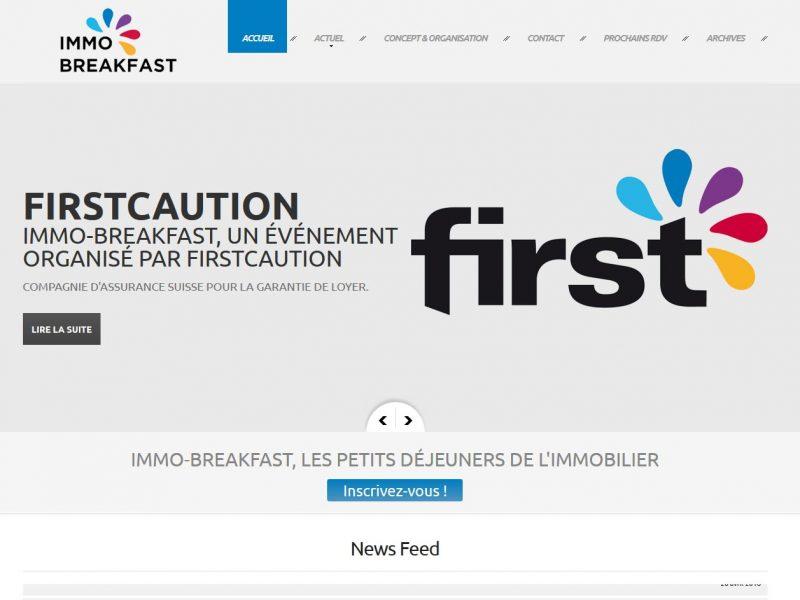 THALES IT - Réalisation sites Internet - Immo Breakfast