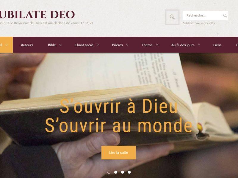 THALES IT - Réalisation sites Internet - Jubilate Deo