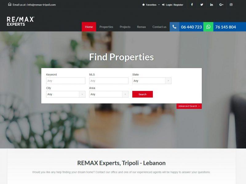 THALES IT - Réalisation sites Internet - Remax Experts