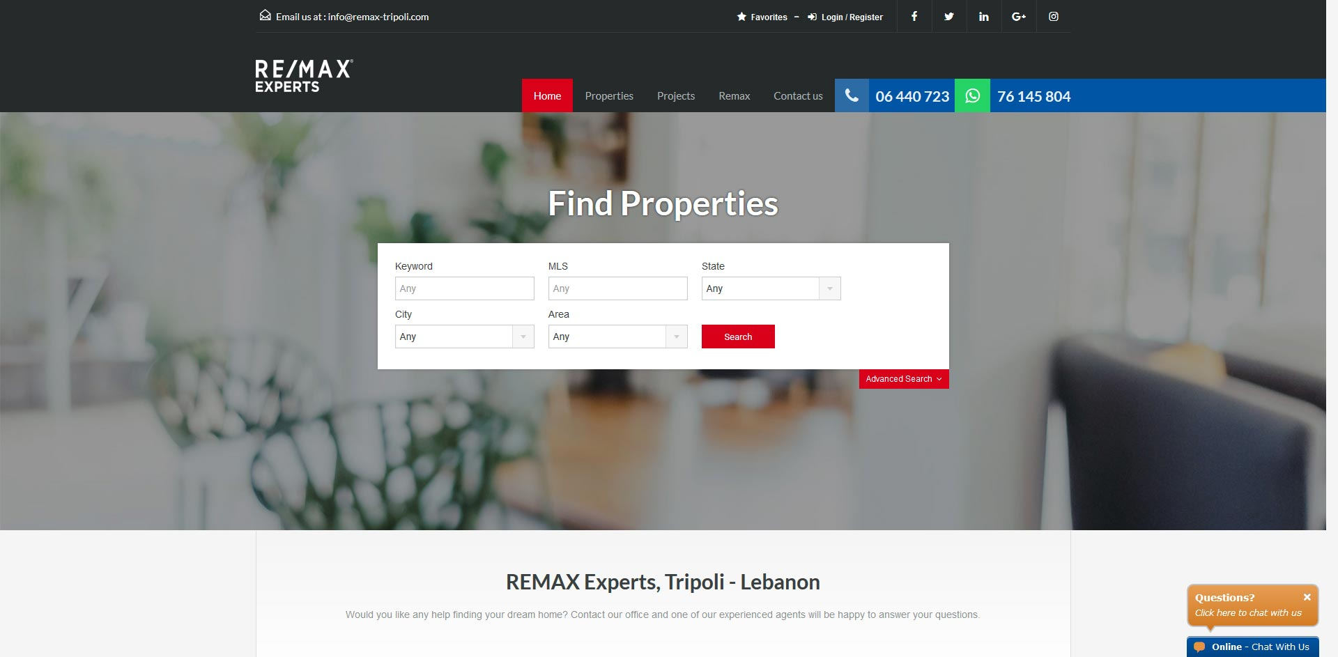 THALES IT - Réalisation sites Internet - Remax Experts