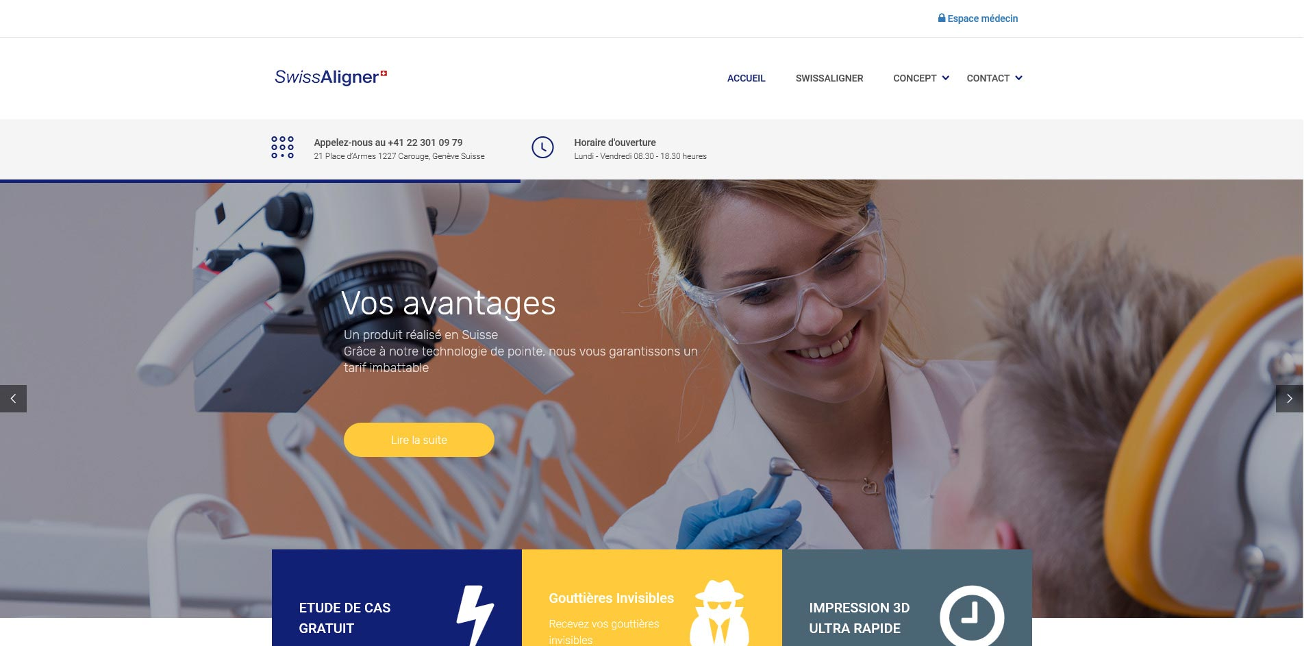 THALES IT - Réalisation sites Internet - SwissAligner