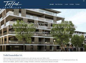 THALES IT - Réalisation sites Internet - Toffel Immobilier SA