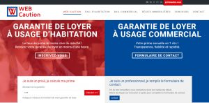 THALES IT - Réalisation sites Internet - Web Caution