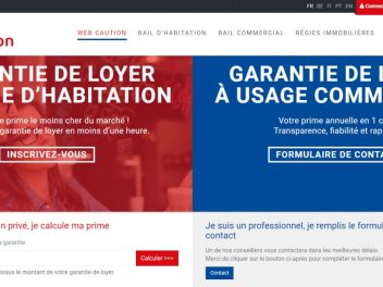 THALES IT - Réalisation sites Internet - Web Caution