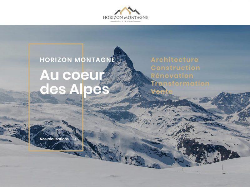 THALES IT - Réalisation sites Internet - Agence WEB - Horizon Montagne