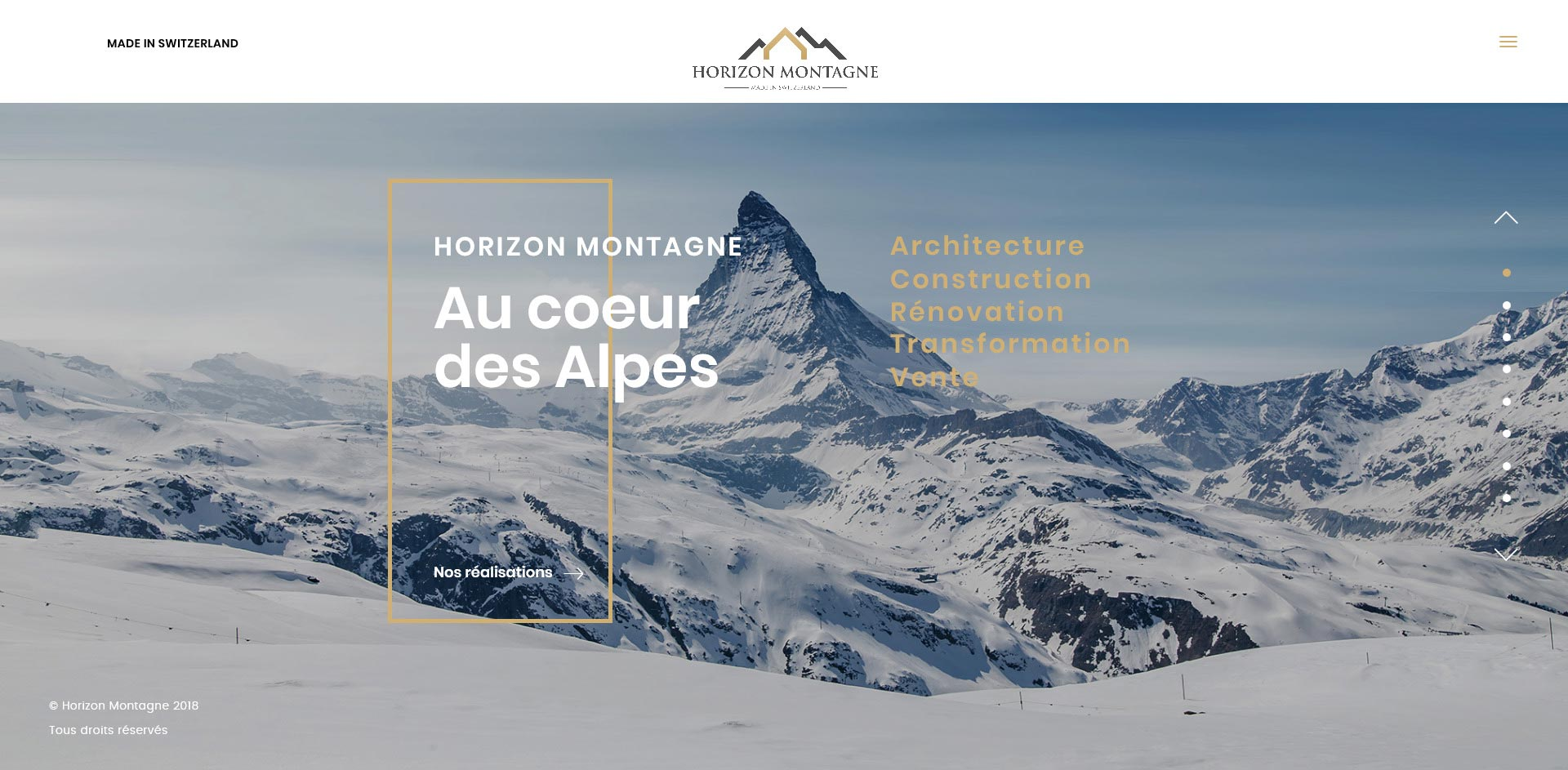 THALES IT - Réalisation sites Internet - Agence WEB - Horizon Montagne