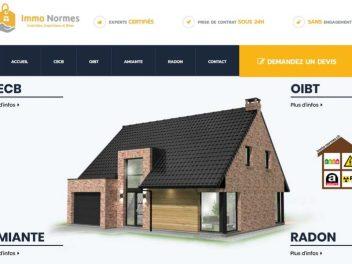 THALES IT - Réalisation sites Internet - Agence WEB - Immo Normes