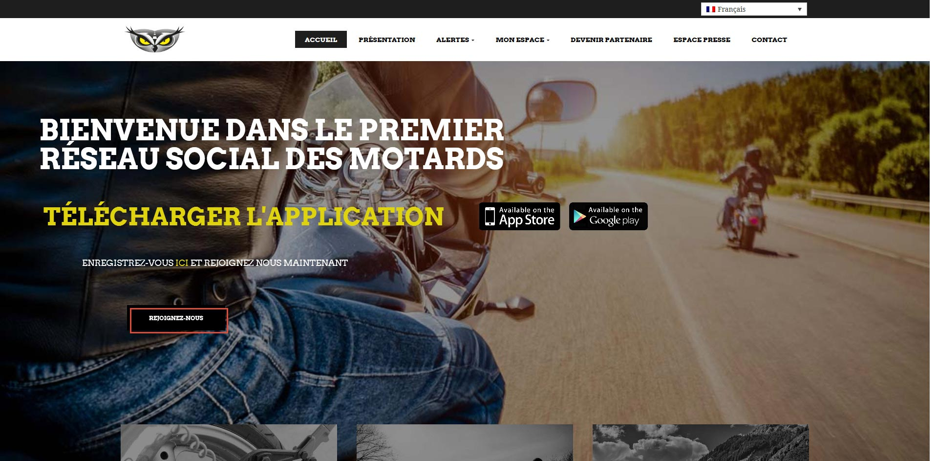 THALES IT - Réalisation sites Internet - Agence WEB - Moto Guard