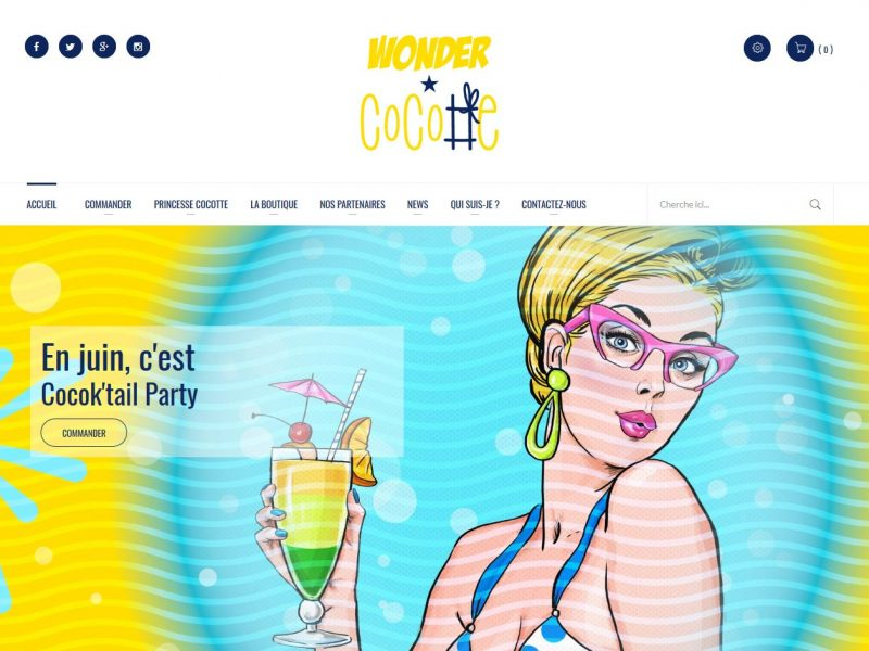 THALES IT - Réalisation sites Internet - Agence WEB - Wonder Cocotte