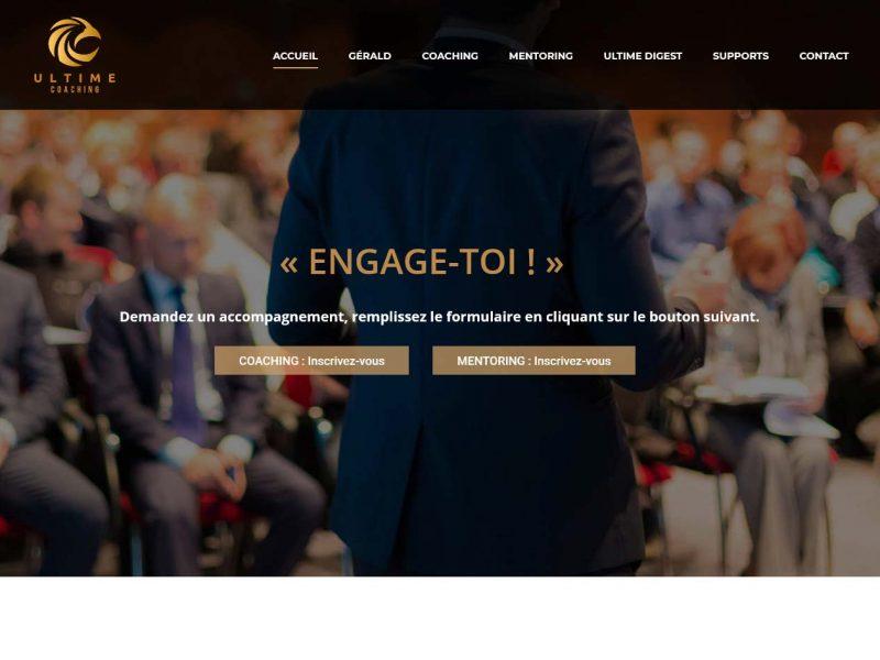 THALES IT - Réalisation sites Internet - Ultime Coaching