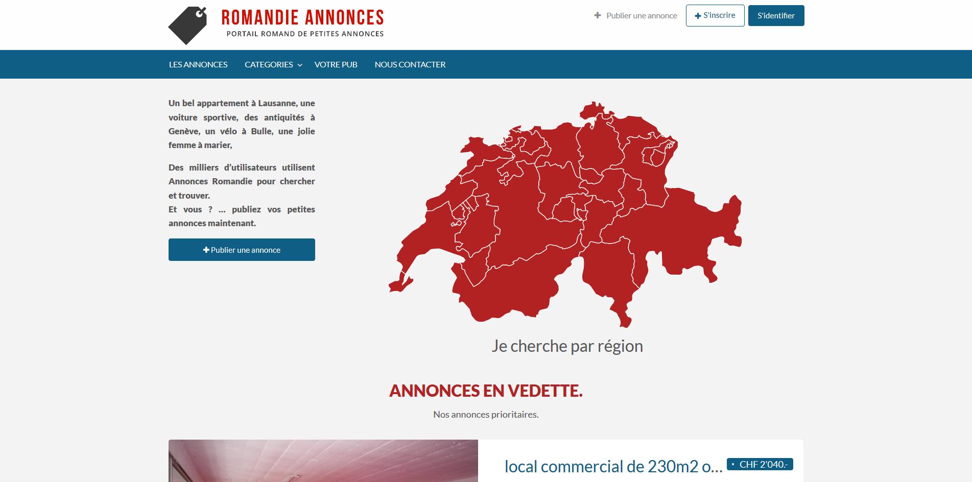 THALES IT - Réalisation sites Internet - Agence WEB - Annonces Romandie