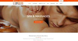 THALES IT - Réalisation sites Internet - Agence WEB - Spa Massages