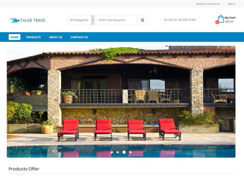 THALES IT - Réalisation sites Internet - Agence WEB - TalebTrade