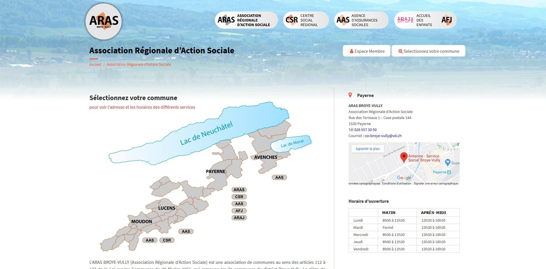 THALES IT - Réalisation sites Internet - Agence WEB - Aras