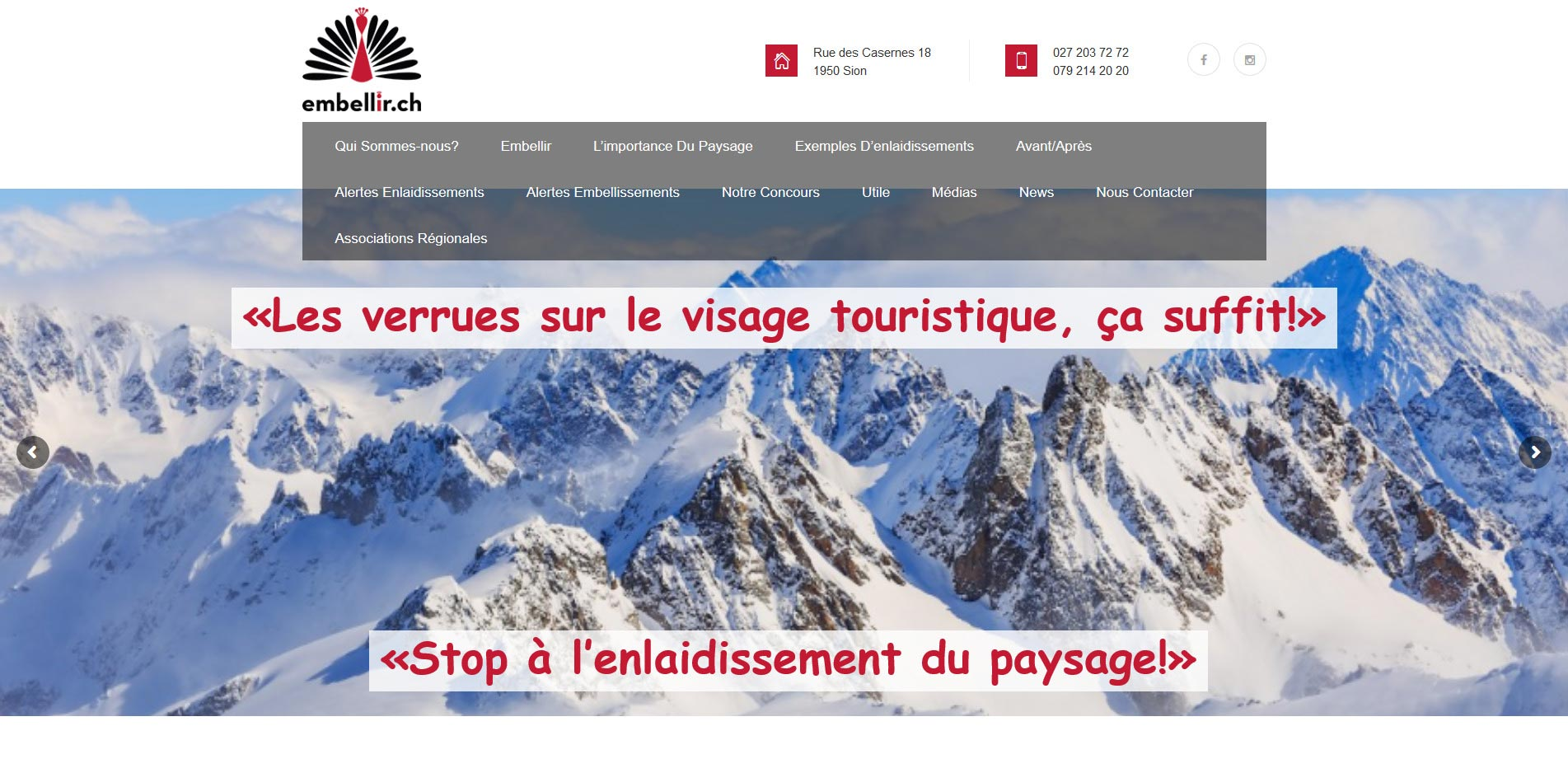 THALES IT - Réalisation sites Internet - Agence WEB - Embellir